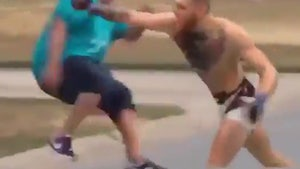 Conor McGregor Goes on the Attack in Dana White Spoof Video