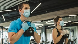L.A. County Gyms Requiring Masks, Gloves At All Times