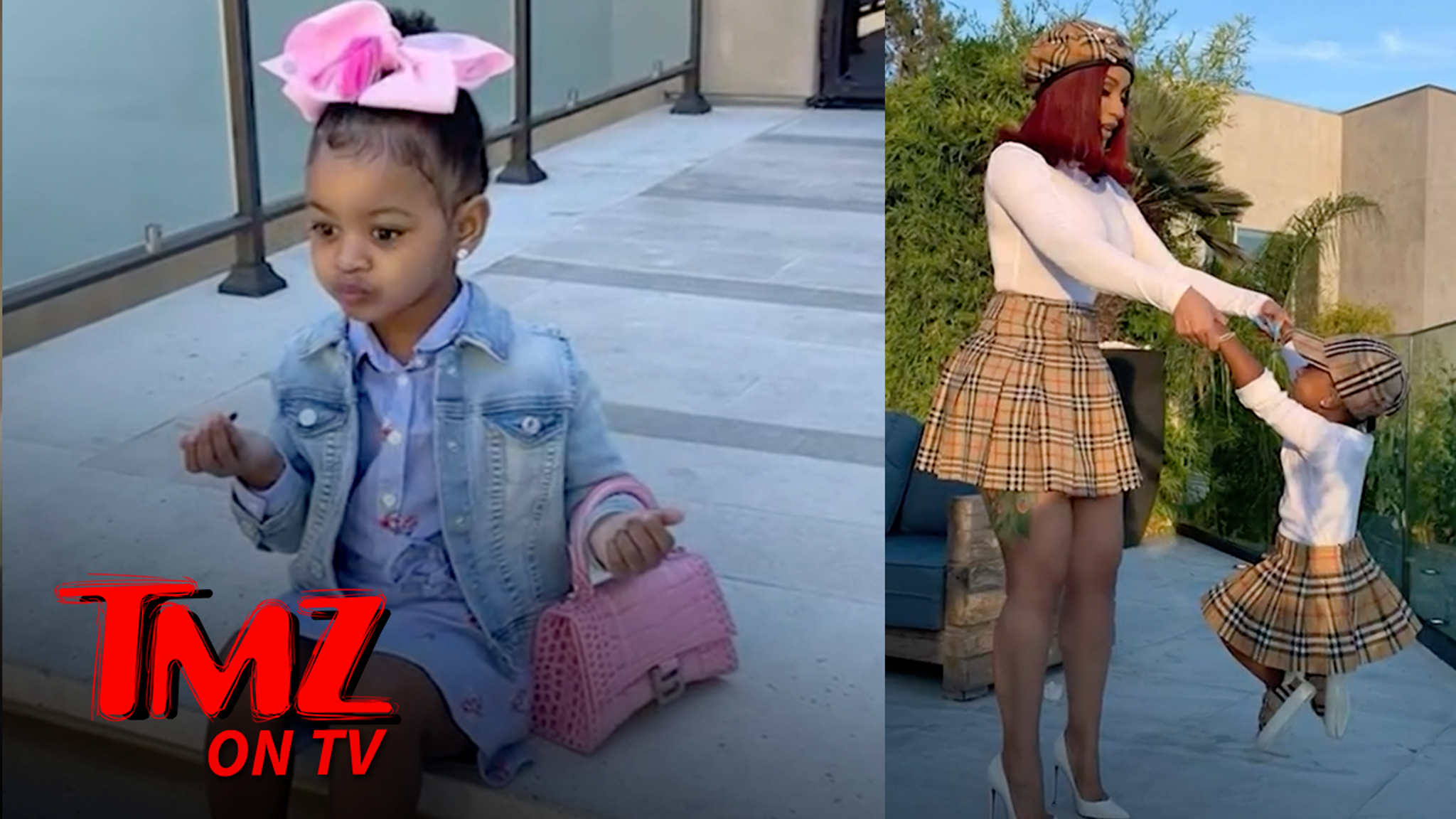 Cardi B Buys Her 3-Year-Old Three Chanel Bags