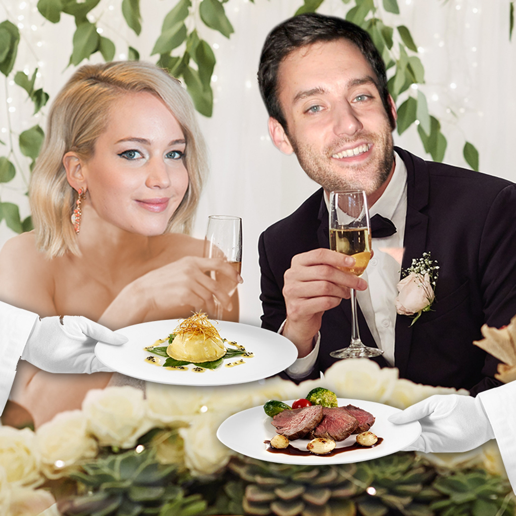 Jennifer Lawrence Getting Married This Weekend, Menu's Over the Top