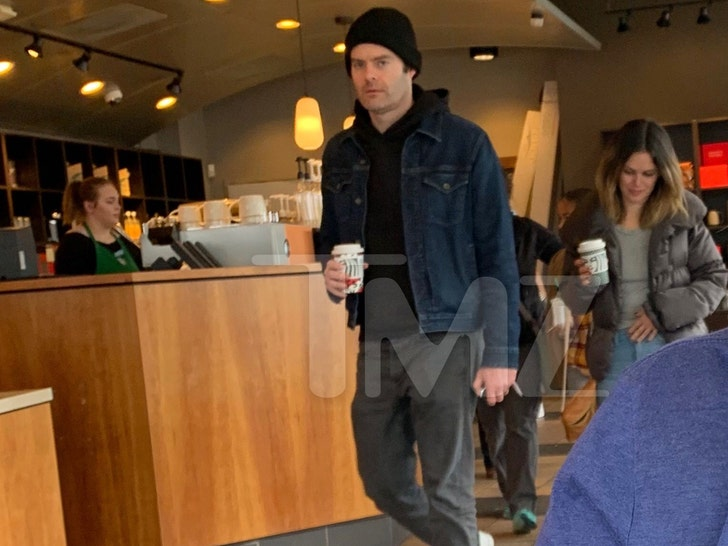 Rachel Bilson and Bill Hader spark dating rumors after coffee outing