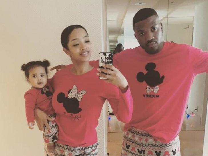 Ray J and Princess Love's Family Photos