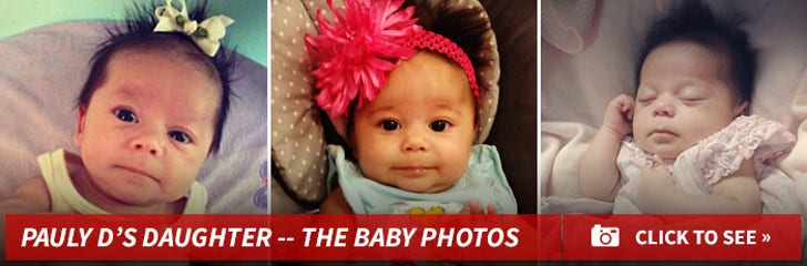 Pauly D's Daughter Amabella -- The Baby Photos