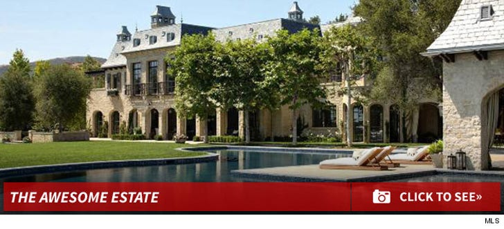 Tom Brady and Gisele's Mega-Estate in L.A.!!!!!