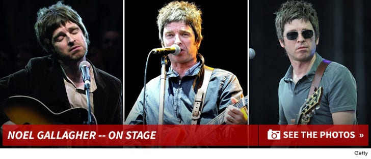 Noel Gallagher's Performance Photos