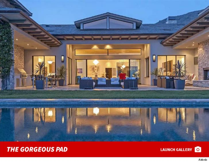 Britney Spears' Gorgeous Airbnb