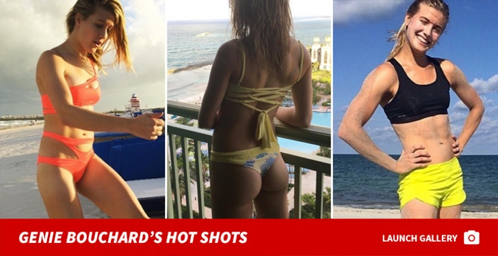 Genie Bouchard's Hot Shots