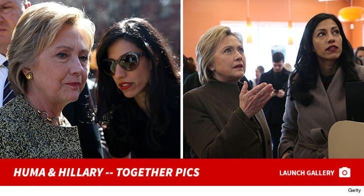 Huma Abedin and Hillary Clinton Together