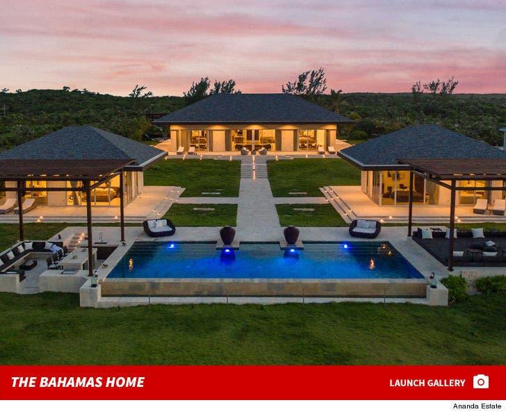 Ludacris' Bahamas Vacation House