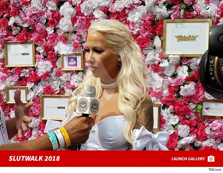 Amber Rose's SlutWalk 2018