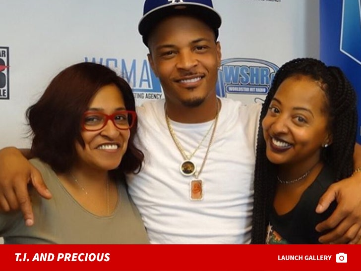 T.I. and Precious Harris Together