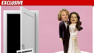 'Sister Wives' Wedding -- Guests Hide from Cameras