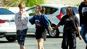 Millie Bobby Brown Pals Around with Brad Pitt & Angelina Jolie's Kids