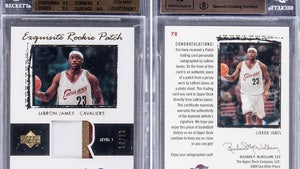 LeBron James Rookie Card Fetches $1.8 MILLION At Auction, Most Expensive Ever!