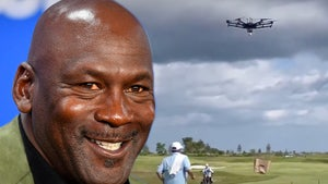 Michael Jordan's Golf Course Features Flying Drones That Deliver Booze!