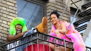 Rihanna, A$AP Rocky Film Music Video, Show Off Their Bright Side