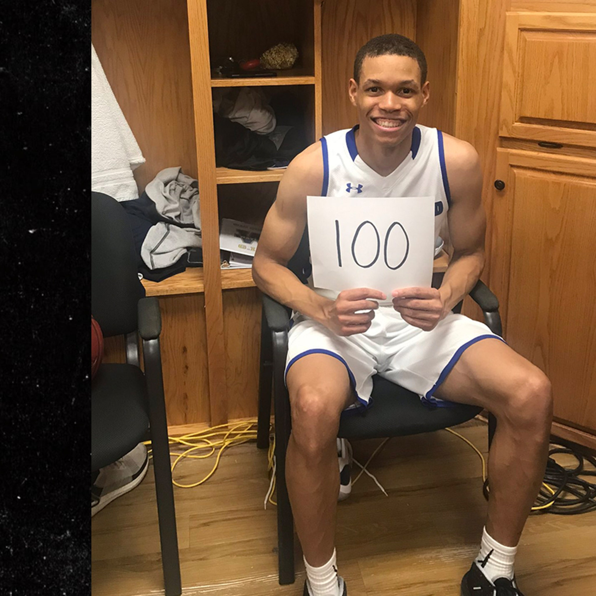 NBA Star's Older Brother Scores 100 Points In College Basketball Game