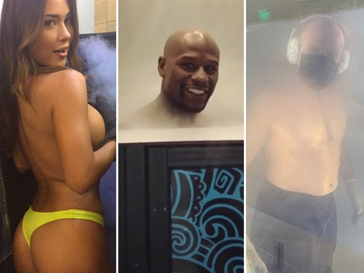 Cryotherapy Celebs Straight Chillin'