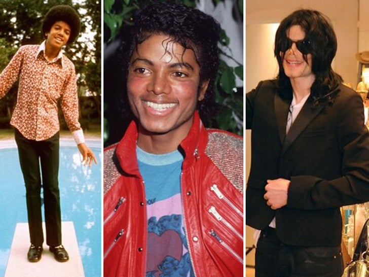 Michael Jackson -- Through the Years