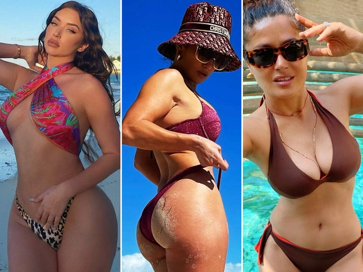 Celebrity 2021 Hot Shots -- New Year, Same Sexy Snaps!