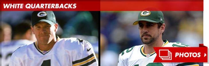 Green Bay Packers' White Quarterbacks