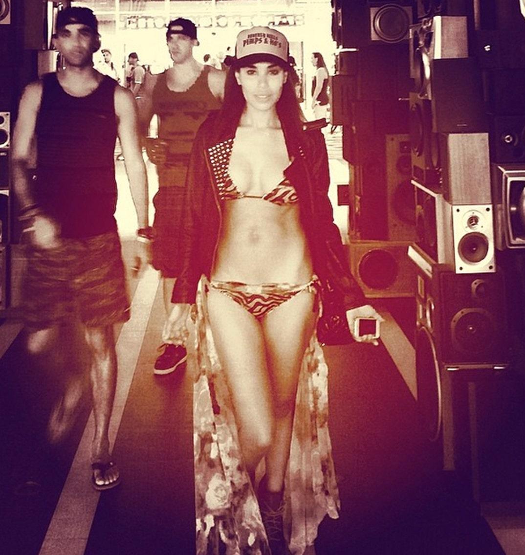 V Stiviano Bikini