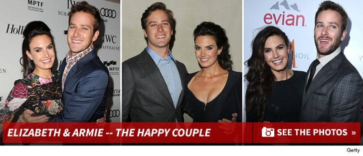 Armie Hammer and Elizabeth Chambers -- Before The Split