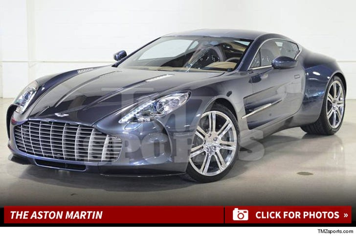 Floyd Mayweather's New Aston Martin Photos