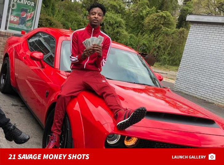 21 Savage's Money Shots