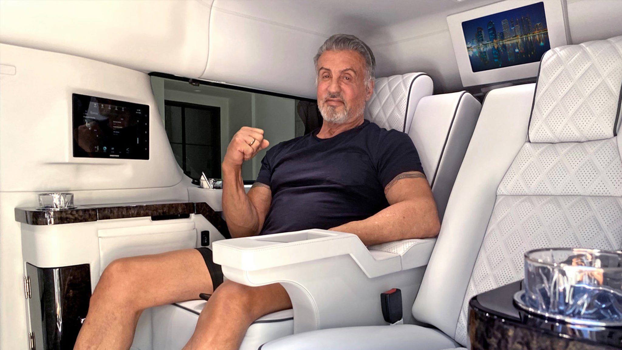 Sylvester Stallone Unloading Siiiiick Escalde for $350k Gonna (Look) Fly Now!!!