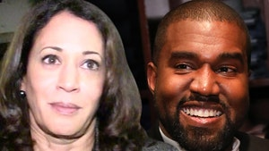 Kanye West Congratulates Kamala Harris Despite Running Against Her
