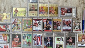 Patrick Mahomes Holy Grail Card Collection Up For Sale For $7.5 MILLION!
