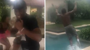 NBA's Donovan Mitchell Goes Wild After Signing $195 Mil Deal, Jumps Into Pool!