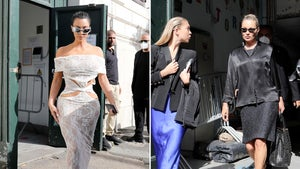 Kim Kardashian Visits the Vatican with Kate Moss