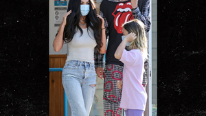 Megan Fox and Machine Gun Kelly Take Her Kids Out in L.A.
