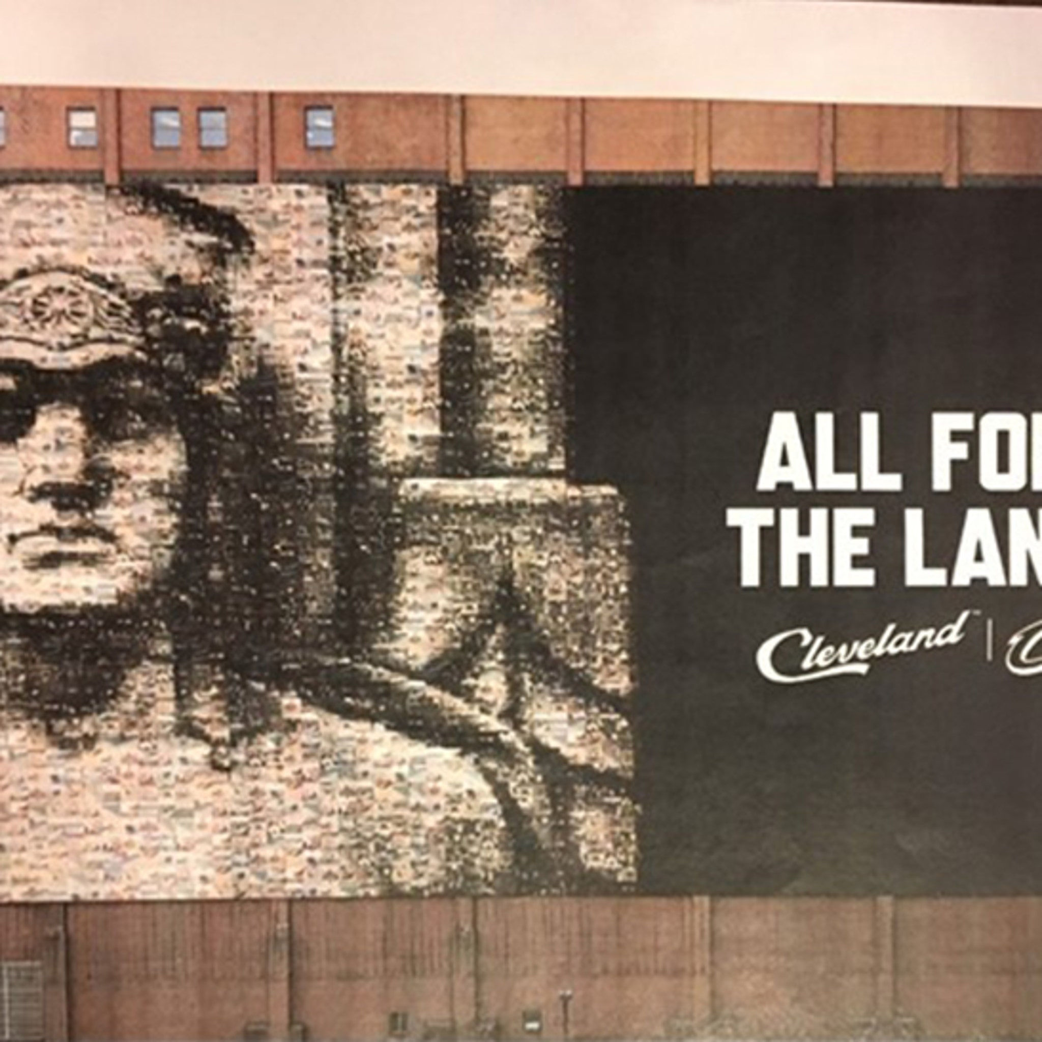 Cleveland Replacing LeBron Banner with Guardian of Traffic
