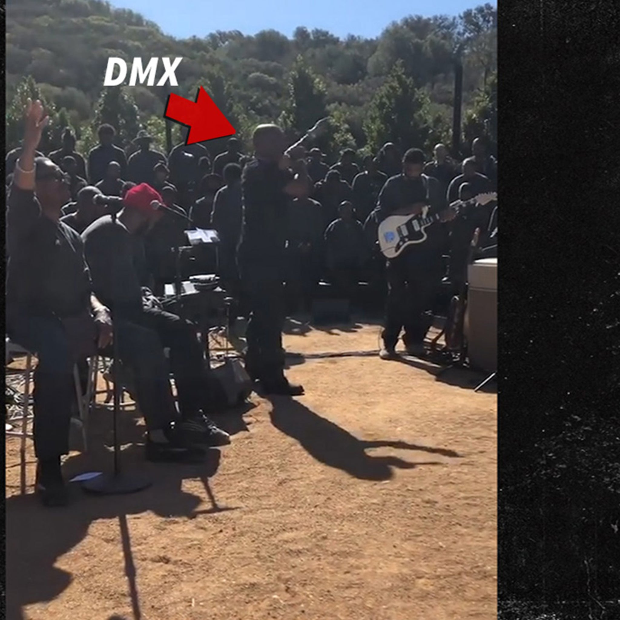 43b85dfb0d74 DMX Kicks Off Kanye's Latest Sunday Service with a Prayer