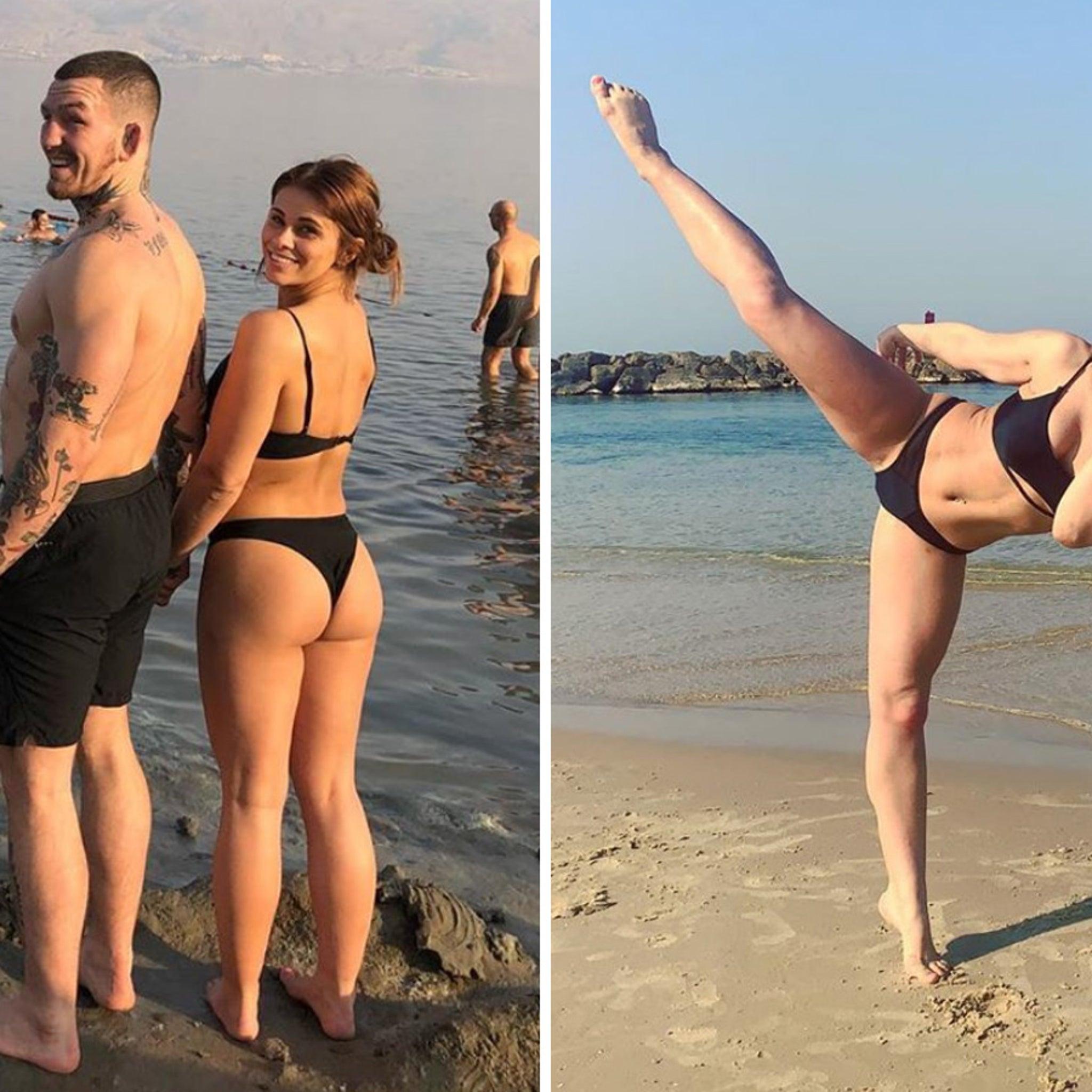 UFC's Paige VanZant, Butt Mitzvah In Israel!