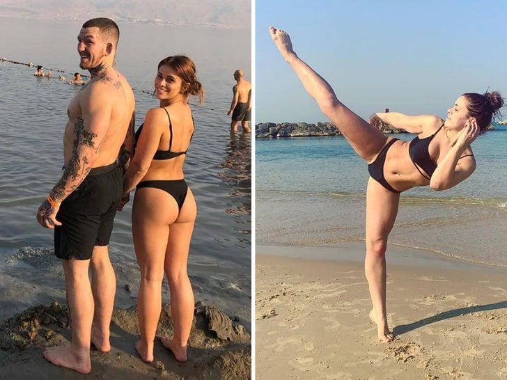 Paige VanZant and Austin Vanderford -- Butt Mitzvah In Israel!