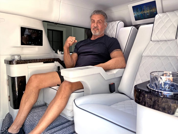 Sylvester Stallone's $350k Tricked Out Escalade -- For Sale!