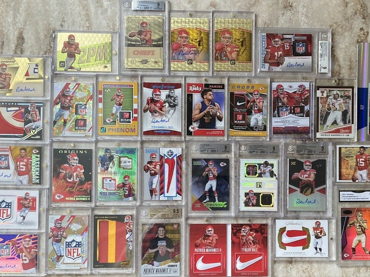 Crazy Patrick Mahomes Card Collection on eBay