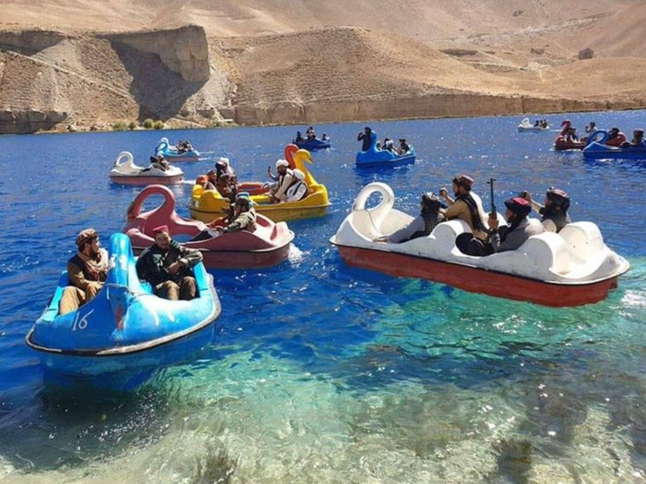 Taliban Pedal Boating with Assault Rifles in Afghanistan National Park.jpg