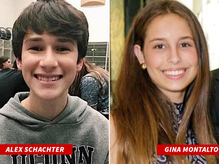 Gina Montalto and Alex Schachter