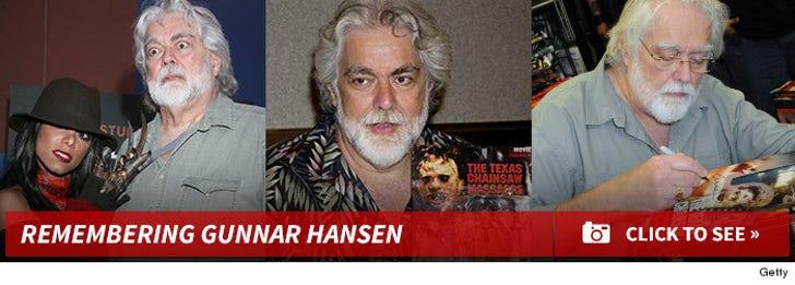 Remembering Gunnar Hansen