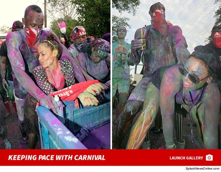 Usain Bolt at Carnival
