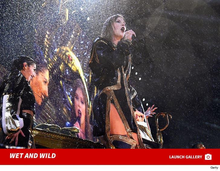 Taylor Swift -- Torrential Rain in Jersey