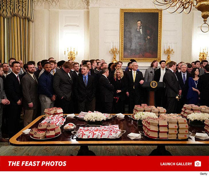 FCS Championship Winners At White House