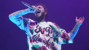 Post Malone Honors Mac Miller in Pittsburgh with Custom 'RIP' Shirt