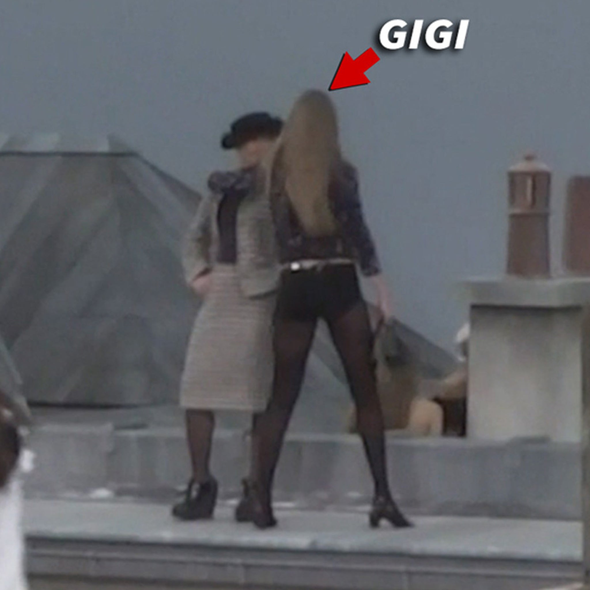 Gigi Hadid Confronts Chanel Runway Crasher at Paris Fashion Week