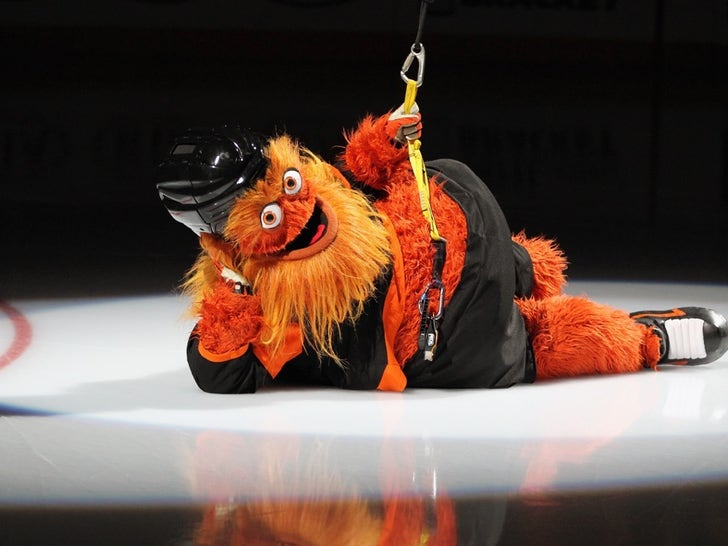 Gritty On The Ice